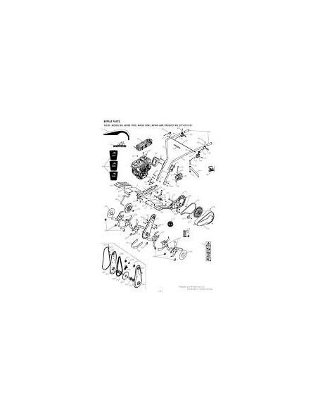 Σκαπτικό MCCULLOCH MFT85 160R