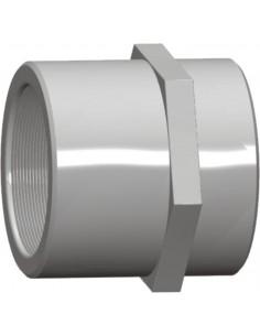 Μούφα Βιδωτή PVC