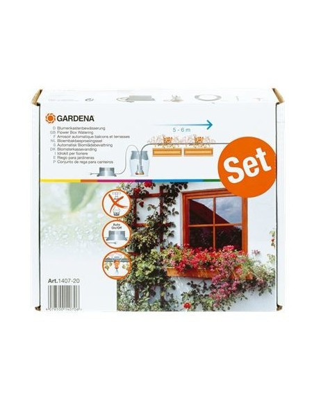 Automatic Flower Box Watering 1407-20