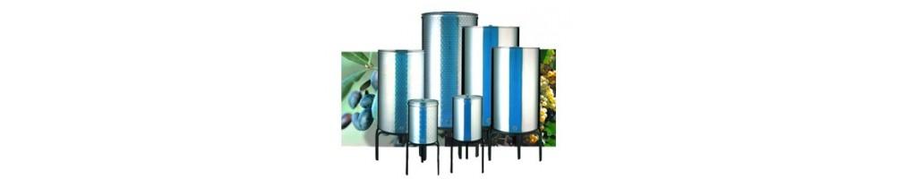 Ανοξείδωτα Δοχεία | αντλίες | δοχεία | πώματα | εργαλεία εμφιάλωσης | μπουκάλια